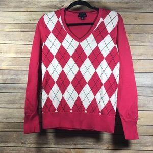 Tommy Hilfiger Medium Argyle Pima Cotton Pullover